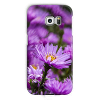Beautiful Purple Flowers Phone Case Galaxy S6 Edge / Snap Gloss & Tablet Cases