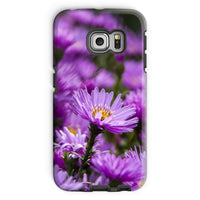 Beautiful Purple Flowers Phone Case Galaxy S6 Edge / Tough Gloss & Tablet Cases