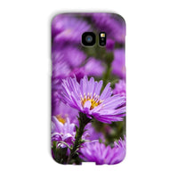 Beautiful Purple Flowers Phone Case Galaxy S7 Edge / Snap Gloss & Tablet Cases