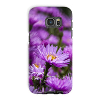 Beautiful Purple Flowers Phone Case Galaxy S7 Edge / Tough Gloss & Tablet Cases