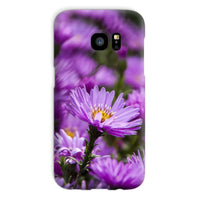 Beautiful Purple Flowers Phone Case Galaxy S7 / Snap Gloss & Tablet Cases