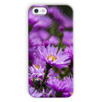 Beautiful Purple Flowers Phone Case Iphone 5C / Snap Gloss & Tablet Cases