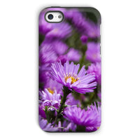 Beautiful Purple Flowers Phone Case Iphone 5C / Tough Gloss & Tablet Cases
