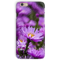 Beautiful Purple Flowers Phone Case Iphone 6 / Snap Gloss & Tablet Cases