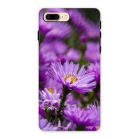 Beautiful Purple Flowers Phone Case Iphone 7 Plus / Tough Gloss & Tablet Cases