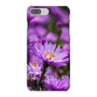 Beautiful Purple Flowers Phone Case Iphone 8 Plus / Snap Gloss & Tablet Cases