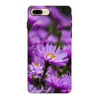 Beautiful Purple Flowers Phone Case Iphone 8 Plus / Tough Gloss & Tablet Cases