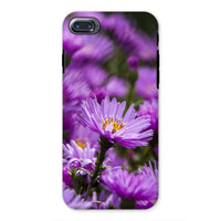 Beautiful Purple Flowers Phone Case Iphone 8 / Tough Gloss & Tablet Cases