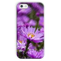 Beautiful Purple Flowers Phone Case Iphone Se / Snap Gloss & Tablet Cases