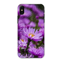 Beautiful Purple Flowers Phone Case Iphone X / Snap Gloss & Tablet Cases