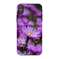 Beautiful Purple Flowers Phone Case Iphone X / Tough Gloss & Tablet Cases
