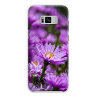 Beautiful Purple Flowers Phone Case Samsung S8 Plus / Snap Gloss & Tablet Cases
