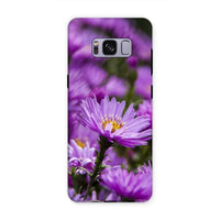 Beautiful Purple Flowers Phone Case Samsung S8 Plus / Tough Gloss & Tablet Cases