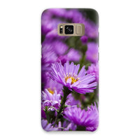 Beautiful Purple Flowers Phone Case Samsung S8 / Snap Gloss & Tablet Cases