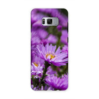 Beautiful Purple Flowers Phone Case Samsung S8 / Tough Gloss & Tablet Cases