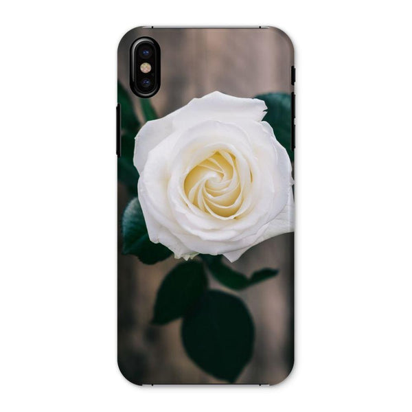 Beautiful White Rose Phone Case Iphone X / Snap Gloss & Tablet Cases