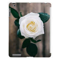 Beautiful White Rose Tablet Case Ipad 2 3 4 Phone & Cases