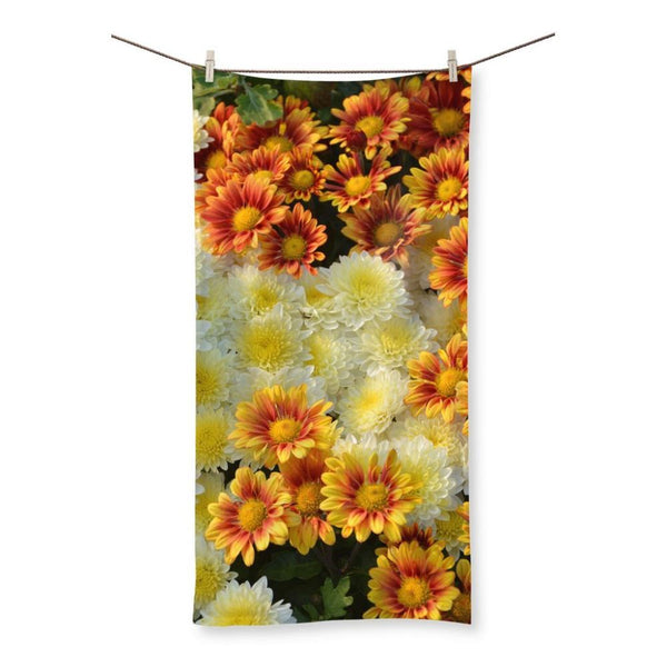 Beautifully Blooming Plants Beach Towel 19.7X39.4 Homeware
