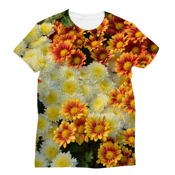 Beautifully Blooming Plants Sublimation T-Shirt Xs Apparel