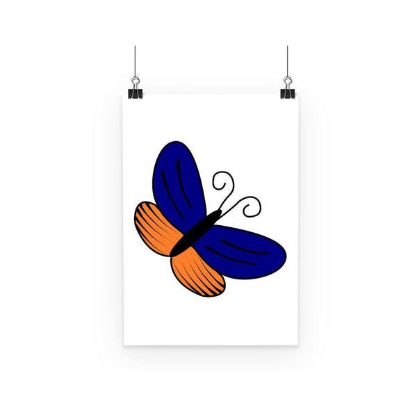 Beauty Ob Butterfly Poster A3 Wall Decor