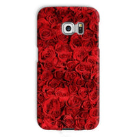 Bed Of Red Roses Phone Case Galaxy S6 Edge / Snap Gloss & Tablet Cases
