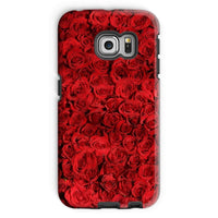 Bed Of Red Roses Phone Case Galaxy S6 Edge / Tough Gloss & Tablet Cases