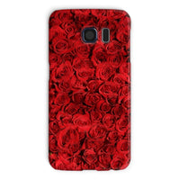 Bed Of Red Roses Phone Case Galaxy S6 / Snap Gloss & Tablet Cases