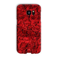 Bed Of Red Roses Phone Case Galaxy S7 Edge / Snap Gloss & Tablet Cases