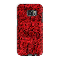 Bed Of Red Roses Phone Case Galaxy S7 Edge / Tough Gloss & Tablet Cases