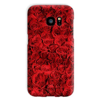 Bed Of Red Roses Phone Case Galaxy S7 / Snap Gloss & Tablet Cases