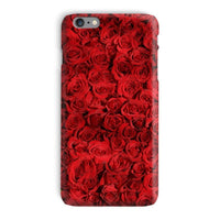 Bed Of Red Roses Phone Case Iphone 6 Plus / Snap Gloss & Tablet Cases