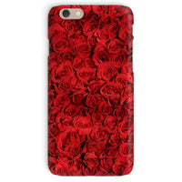 Bed Of Red Roses Phone Case Iphone 6 / Snap Gloss & Tablet Cases