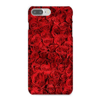 Bed Of Red Roses Phone Case Iphone 8 Plus / Snap Gloss & Tablet Cases
