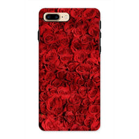 Bed Of Red Roses Phone Case Iphone 8 Plus / Tough Gloss & Tablet Cases