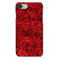 Bed Of Red Roses Phone Case Iphone 8 / Snap Gloss & Tablet Cases