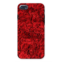 Bed Of Red Roses Phone Case Iphone 8 / Tough Gloss & Tablet Cases