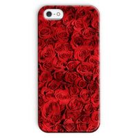 Bed Of Red Roses Phone Case Iphone Se / Snap Gloss & Tablet Cases