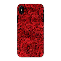 Bed Of Red Roses Phone Case Iphone X / Snap Gloss & Tablet Cases