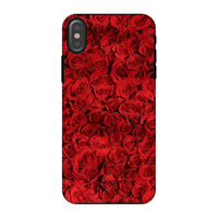 Bed Of Red Roses Phone Case Iphone X / Tough Gloss & Tablet Cases