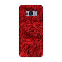 Bed Of Red Roses Phone Case Samsung S8 Plus / Tough Gloss & Tablet Cases