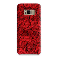 Bed Of Red Roses Phone Case Samsung S8 / Snap Gloss & Tablet Cases