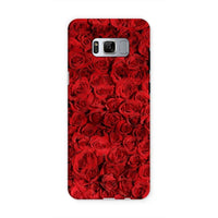 Bed Of Red Roses Phone Case Samsung S8 / Tough Gloss & Tablet Cases