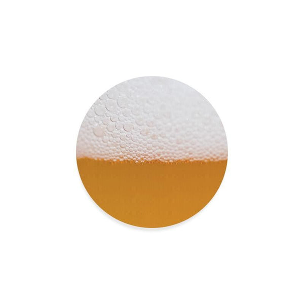 Beer Foam Round Drink Beverage Coaster