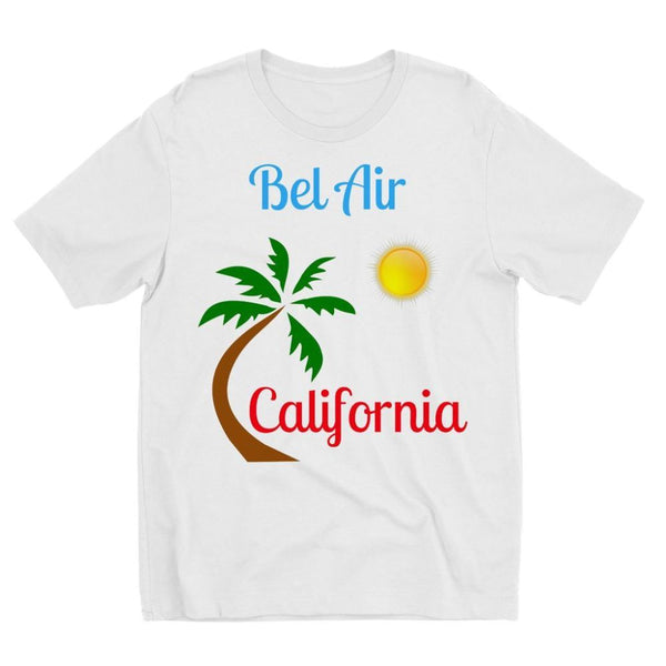 Bel Air California Palm Sun Kids Sublimation T-Shirt 3-4 Years Apparel