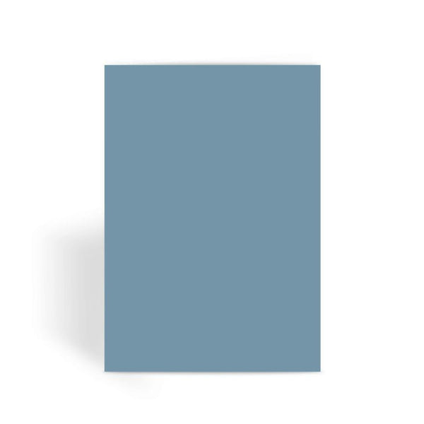 Bermuda Grey Color Greeting Card 1 Prints