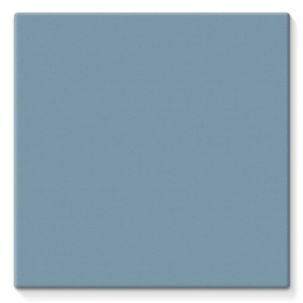 Bermuda Grey Color Stretched Canvas 10X10 Wall Decor