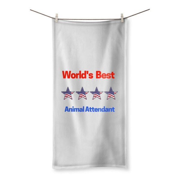 Best Animal Attendant Beach Towel 19.7X39.4 Homeware
