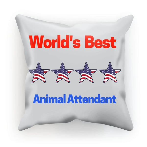 Best Animal Attendant Cushion Linen / 12X12 Homeware