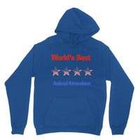 Best Animal Attendant Heavy Blend Hooded Sweatshirt Xs / Royal Blue Apparel