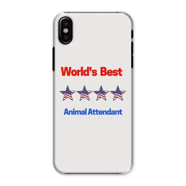 Best Animal Attendant Phone Case Iphone X / Snap Gloss & Tablet Cases